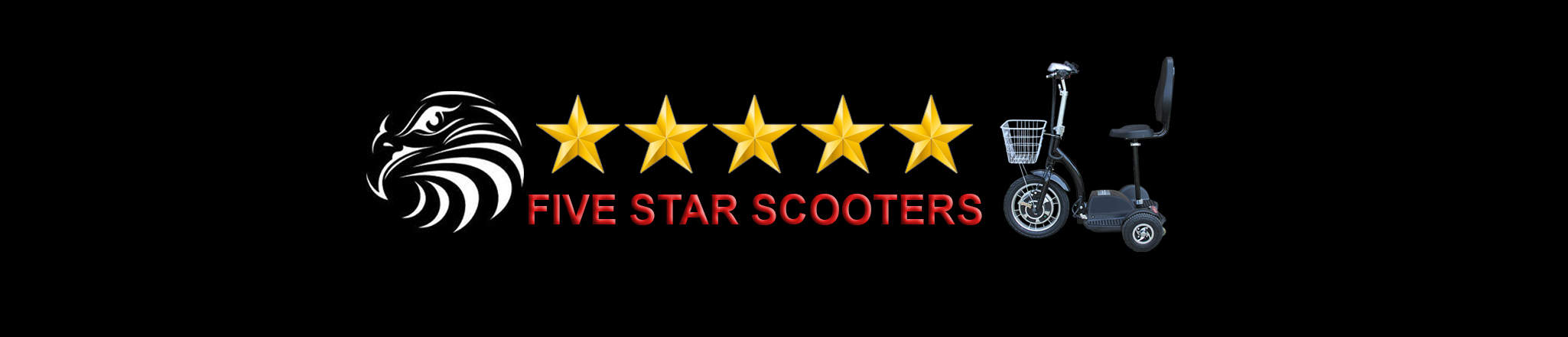 Five 5 Star Scooters